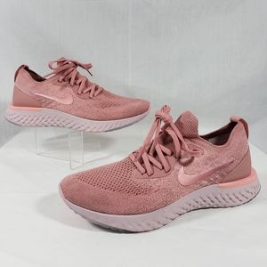 Nike Epic React Flyknit sneakers pink sz 9